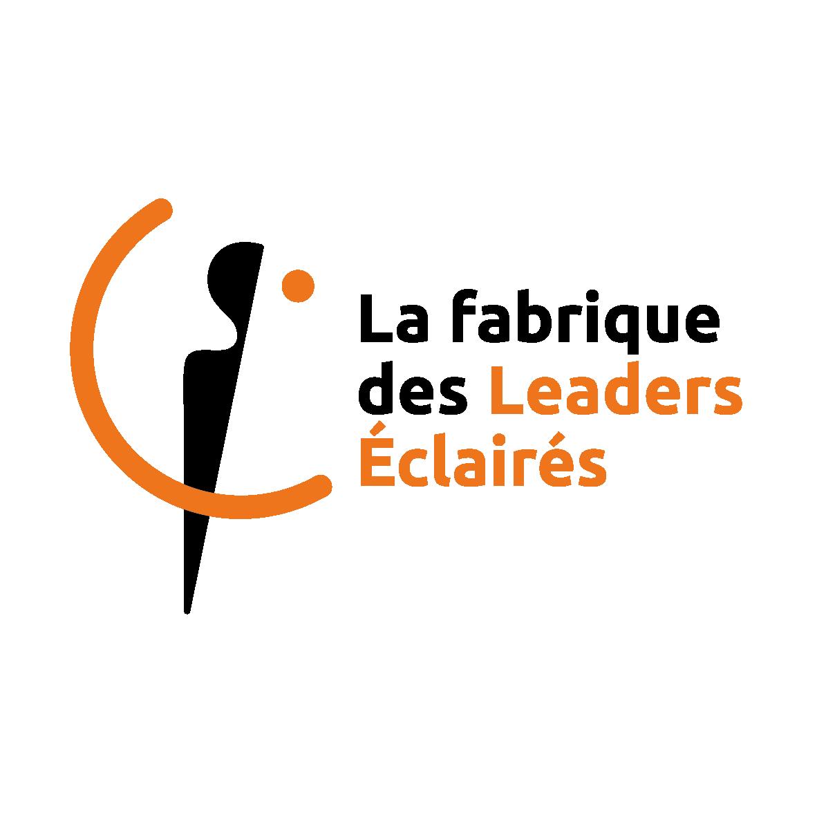 logo la fabrique des leaders eclaires